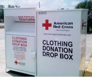 American Red Cross Clothing Program Drop Boxes
